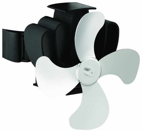 Ofen-Ventilator für Rauchrohr mit Magnetbefestigung