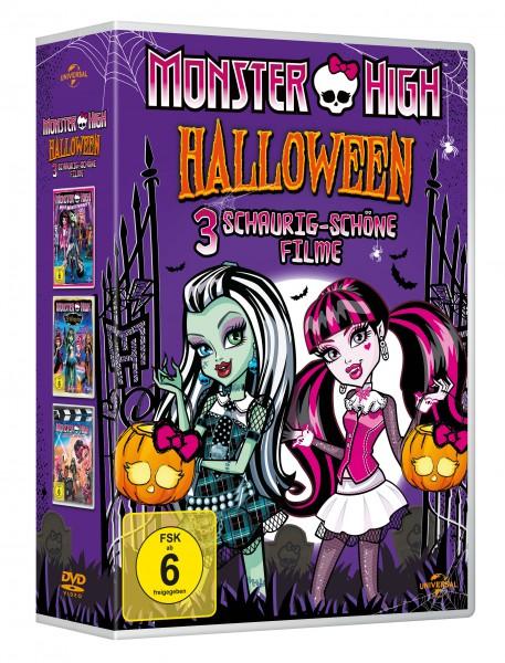 Monster High - Halloween Box (3 DVD)
