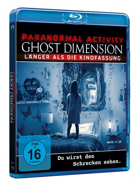 Paranormal Activity: Ghost Dimension (Blu-ray)