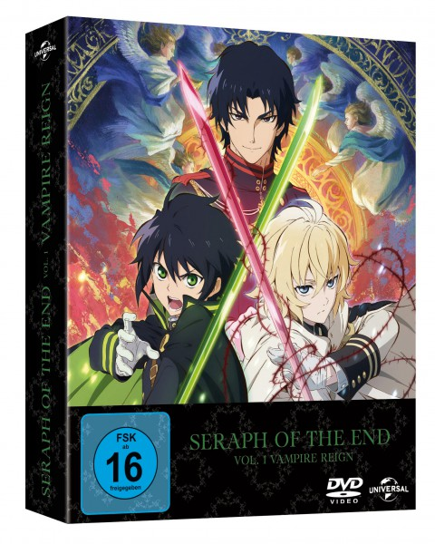 Seraph of the End - Vol. 1: Vampire Reign (Limited Premium Edition) DVD