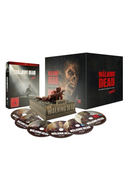 The Walking Dead - Die komplette fünfte Staffel - Uncut [Blu-ray] Lim.Ed. Asphalt Walker