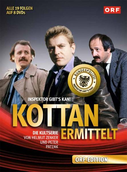 Kottan ermittelt - Die komplette Serie (DVD)