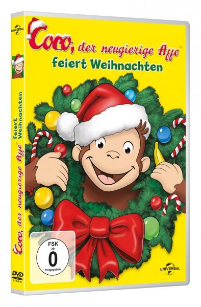 Coco, der neugierige Affe - feiert Weihnachten (DVD)