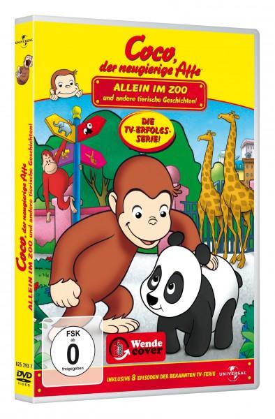 Coco, der neugierige Affe - Allein im Zoo und andere tierische Geschichten! (DVD)