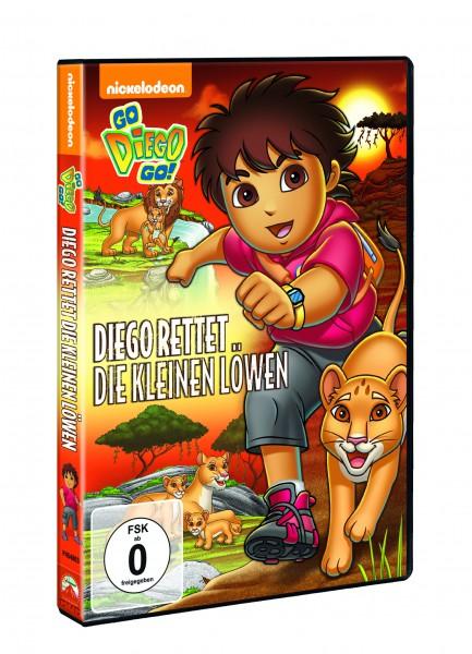 Go Diego Go!: Diego rettet die kleinen Löwen