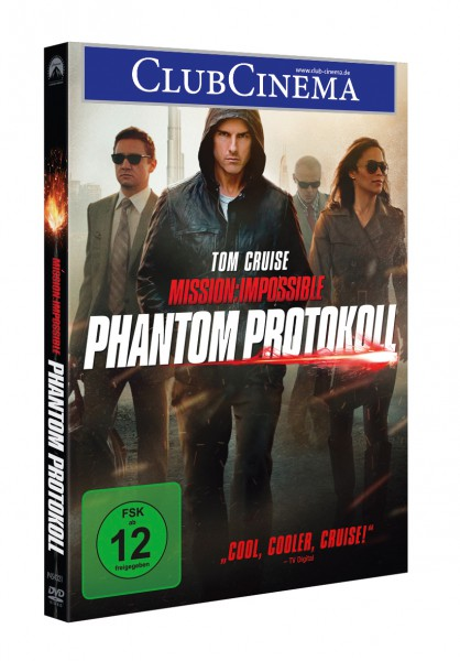 Mission: Impossible 4 - Phantom Protokoll (DVD)