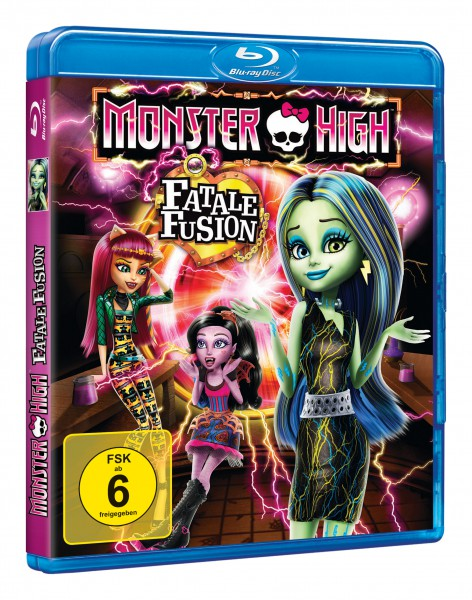 Monster High - Fatale Fusion (Blu-ray)