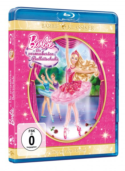 Barbie - in: Die verzauberten Ballettschuhe (Blu-ray)