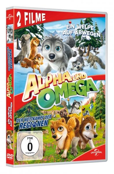 Alpha und Omega - Ein Welpe auf Abwegen & Der Wettkampf der Regionen (DVD)