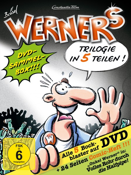 Werner 1-5 Comicbox (5 Discs)