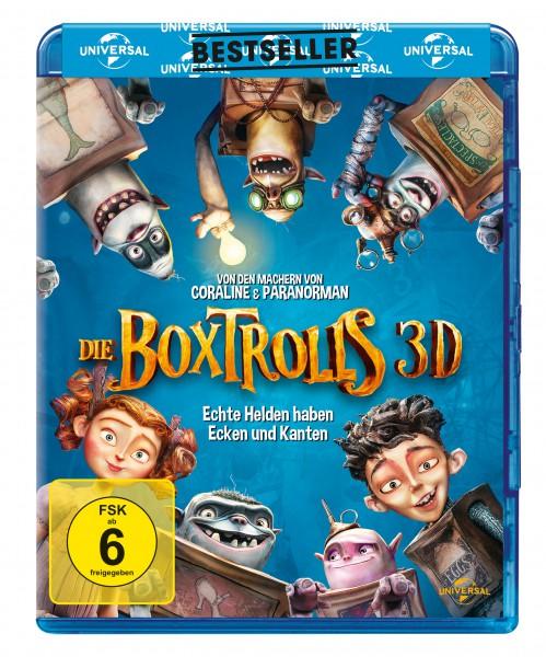 Die Boxtrolls 3D (Blu-ray 3D + Blu-ray)