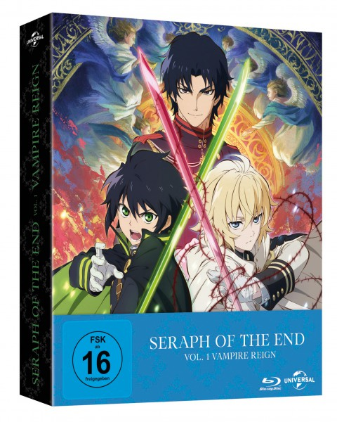 Seraph of the End - Vol. 1: Vampire Reign (Limited Premium Edition) Blu-ray