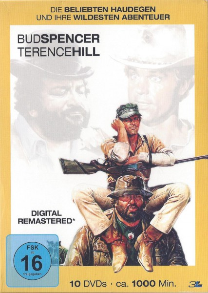 Bud Spencer & Terence Hill - Haudegen-Box (10 DVD)