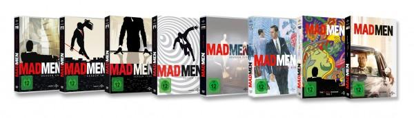 Mad Men - Die komplette Serie 1-7 (30 DVDs)