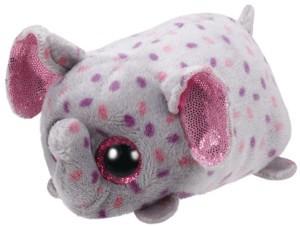 Teeny Ty´s - Elefant pink-grau / Trunks ca. 10cm