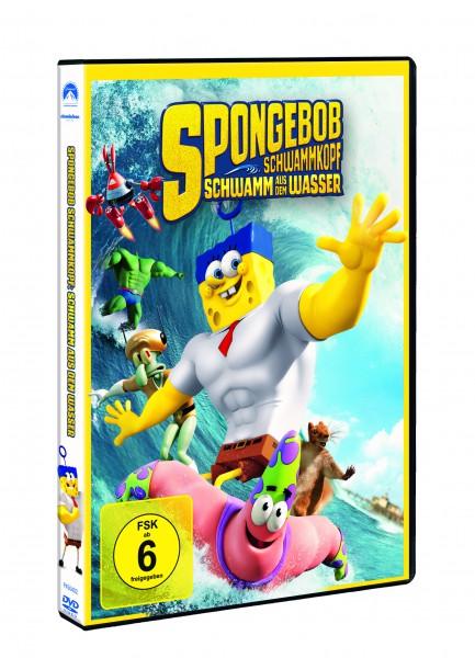 SpongeBob Schwammkopf - Schwamm aus dem Wasser (DVD)