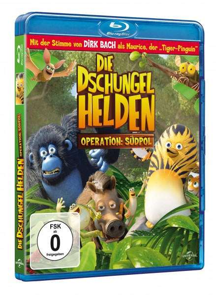 Die Dschungelhelden - Operation: Südpol (Blu-ray)