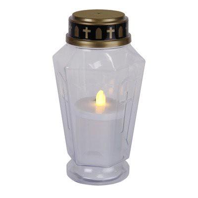 LED Memorial Grablicht Weiß