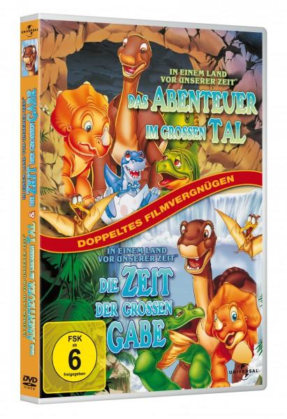 In einem Land vor unserer Zeit - Das Abenteuer im Großen Tal / In einem Land vor unserer Zeit - Die Zeit der großen Gabe (DVD)