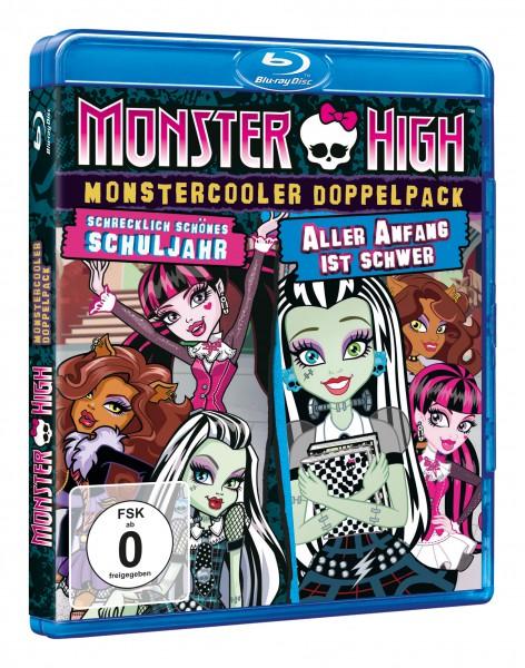 Monster High - Monstercooler Doppelpack: Schrecklich schönes Schuljahr & Aller Anfang ist schwer (Blu-ray)