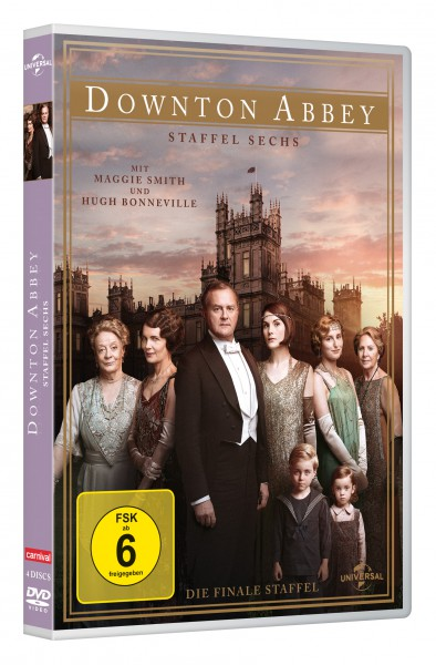 Downton Abbey - Staffel 6 (DVD)
