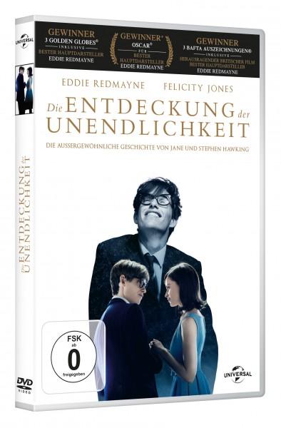 Die Entdeckung der Unendlichkeit (DVD)