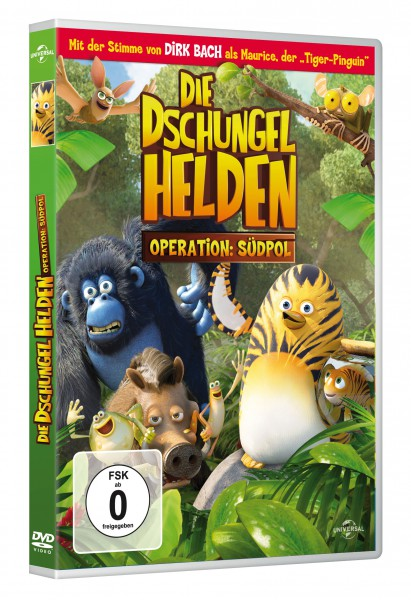 Die Dschungelhelden - Operation: Südpol (DVD)